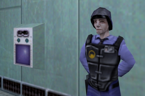 Uno de los Barneys de Half-Life